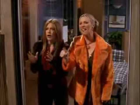 when Phoebe sees Monica and Chandler....lmao....luv this!!!