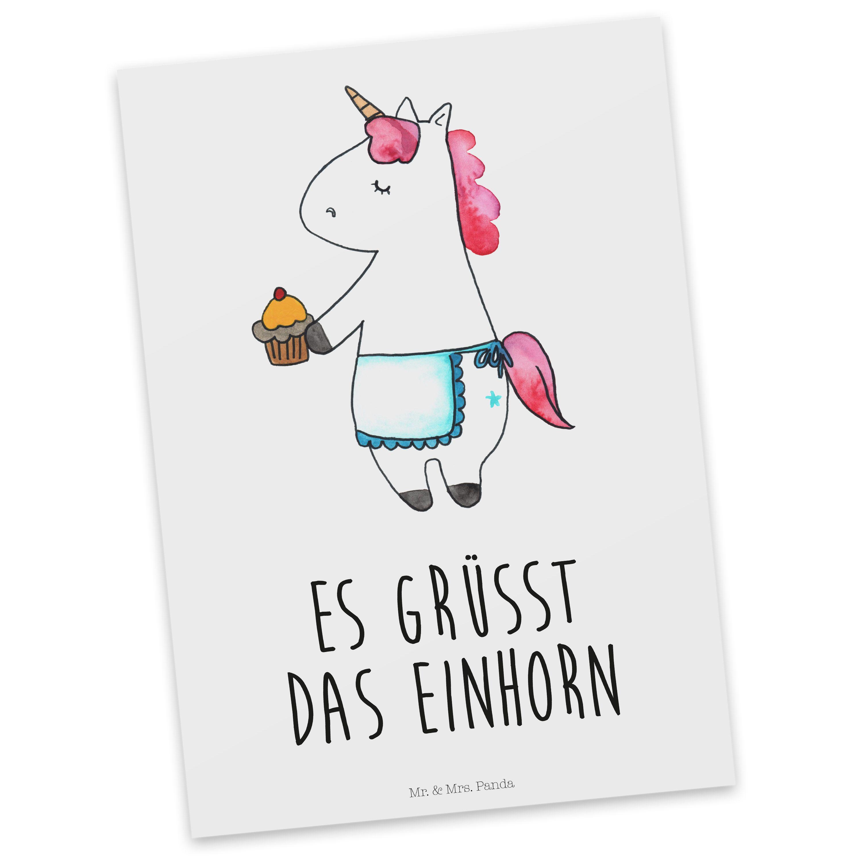 Postkarte Einhorn Muffin Einhorn muffin Postkarten