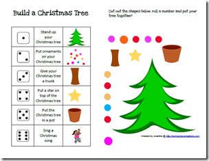 Preschool Corner A Week Off Christmas Tree Game Holiday Activities For Kids Christmas School