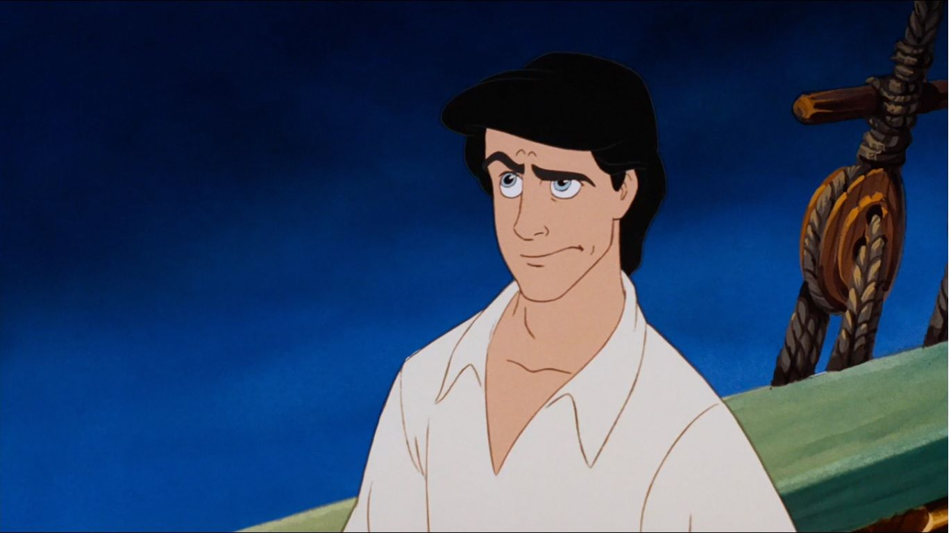The many faces of Prince Eric. The Little Mermaid, sassy Prince Eric.