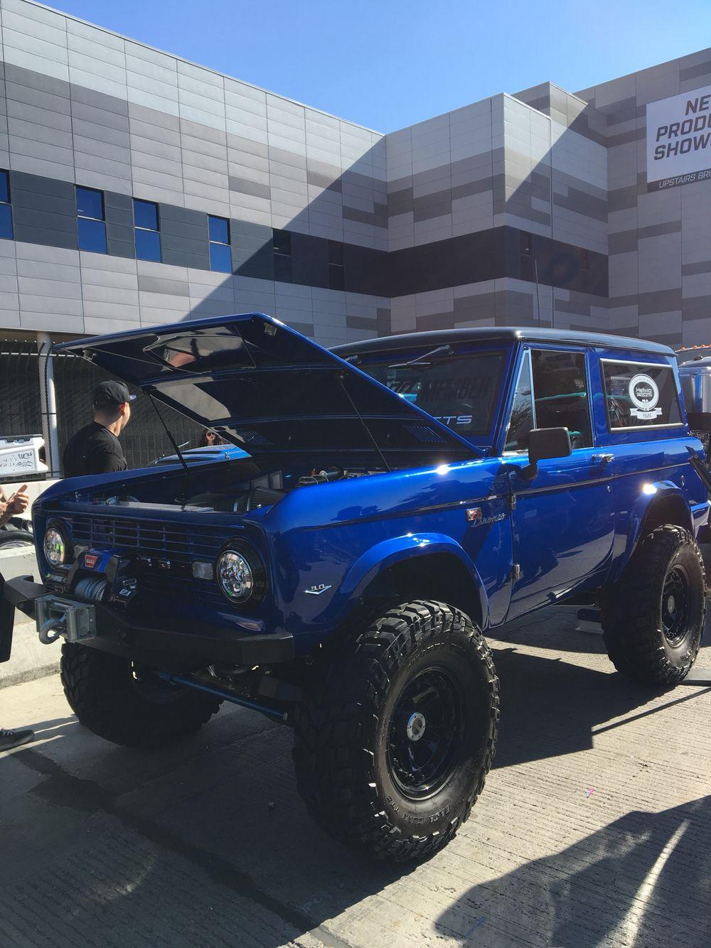Sema 2016 Coyote Swap Bronco Old Ford Bronco Bronco Truck Ford Bronco