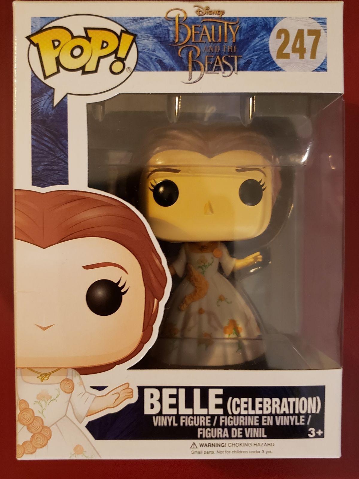 Funko Pop Disney Beauty The Beast Celebration Belle Toy Figure