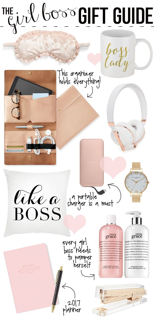 Gift Guide For The Girl Boss More