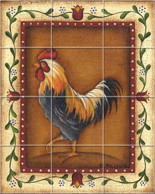 Backsplash Rooster This Needs To Be