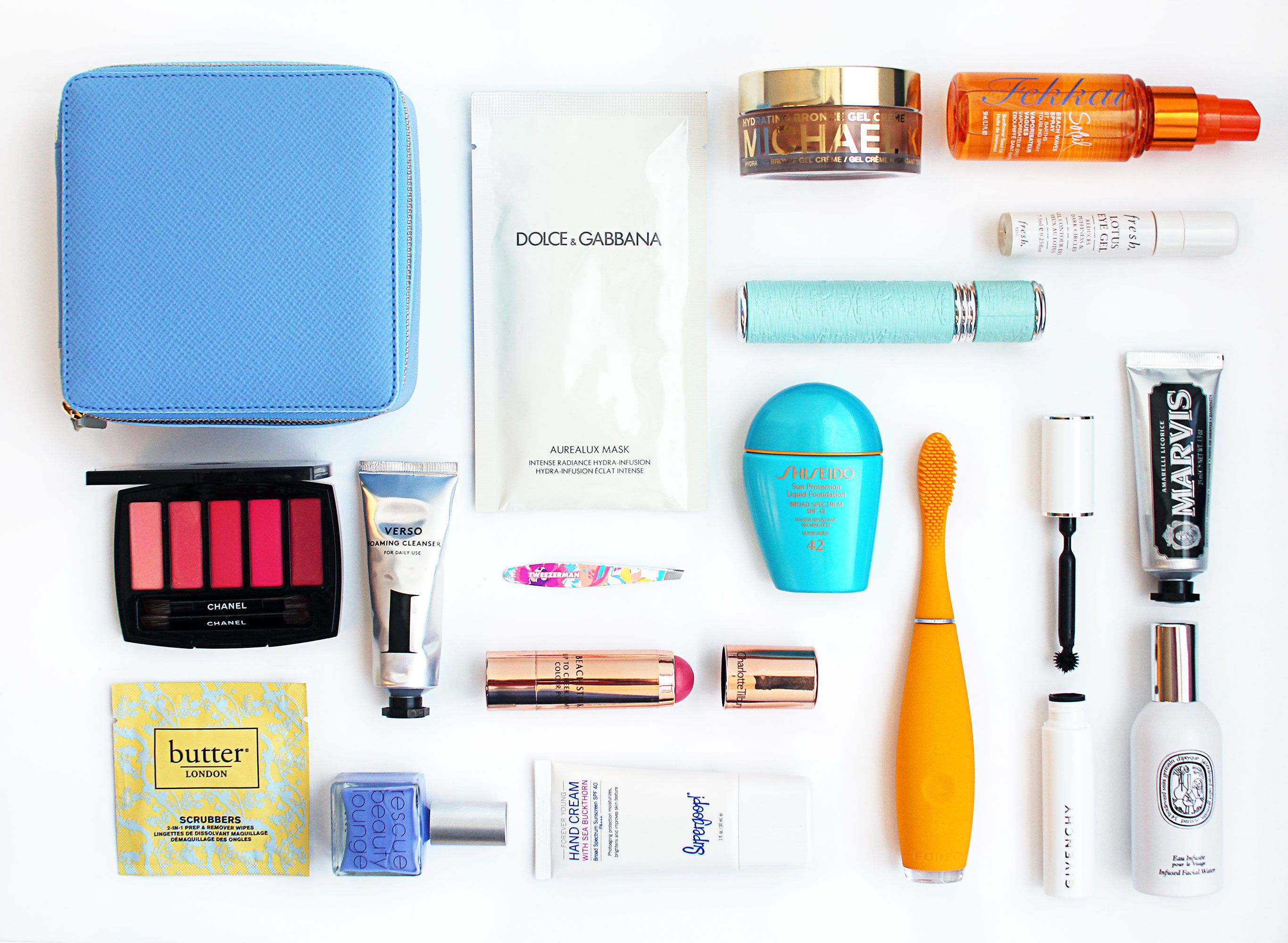 The Ultimate Beauty Travel Kit: Small Wonders to Pack for a ...