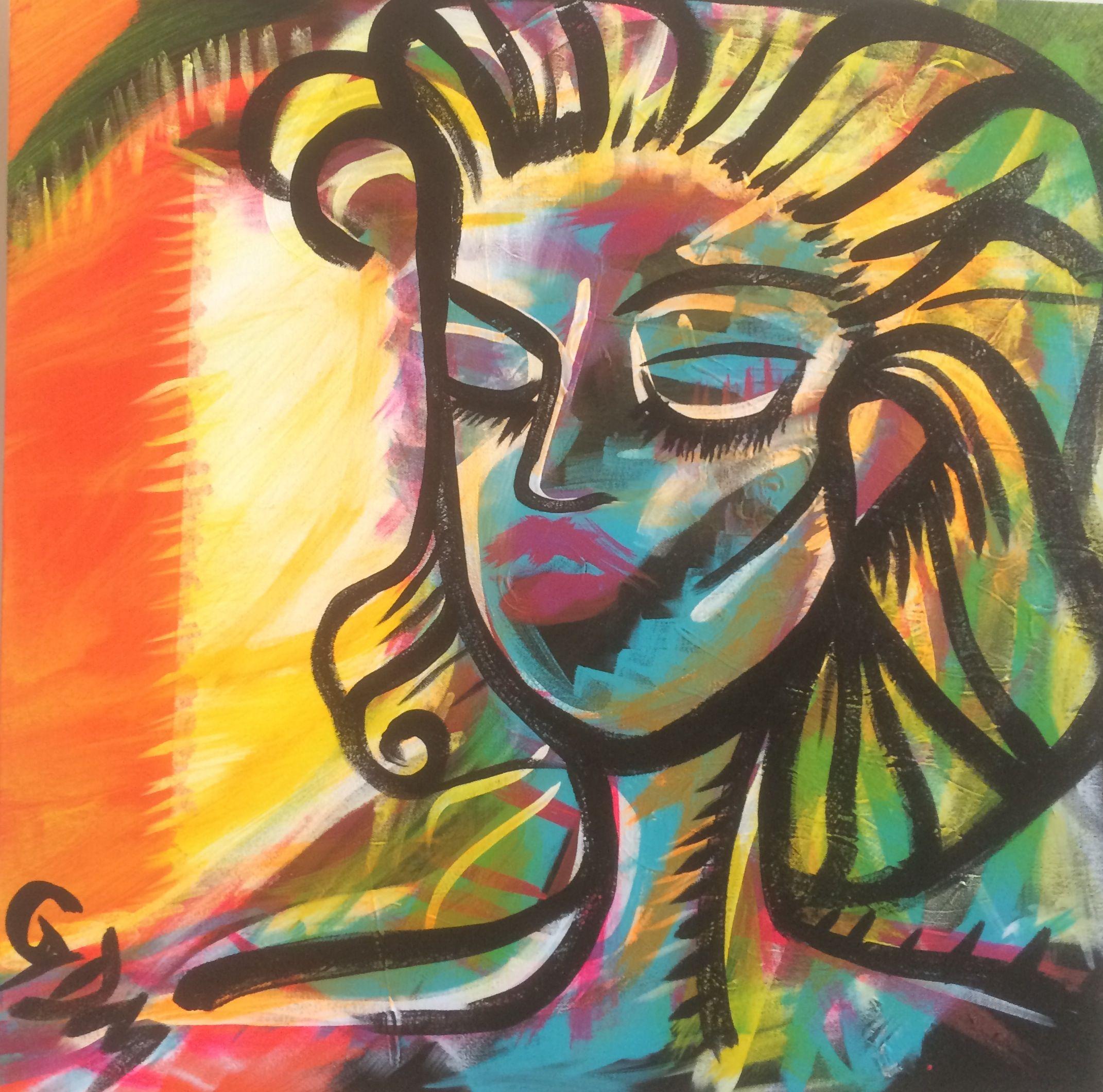 """Julie Doig-McPeek is the proud owner of """"Woman."""" www.gdmartist.com"""
