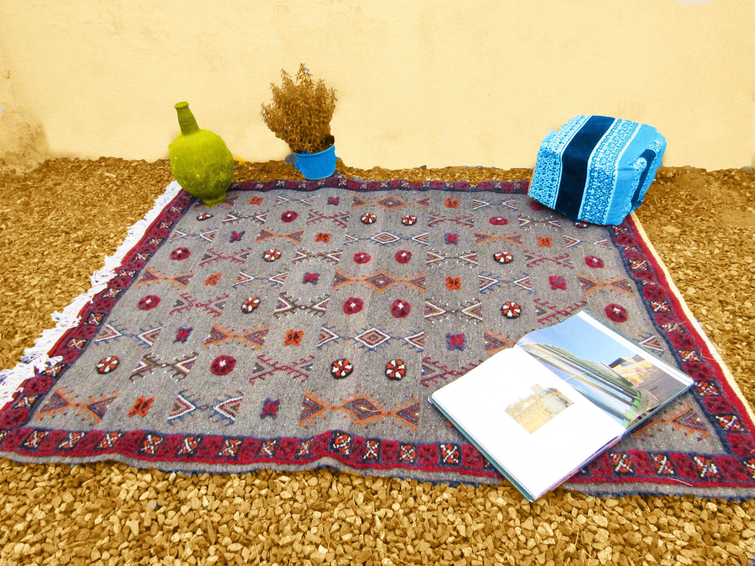 Tapis Berbere Berbere Marocain Laine De La Boutique Timitar Sur