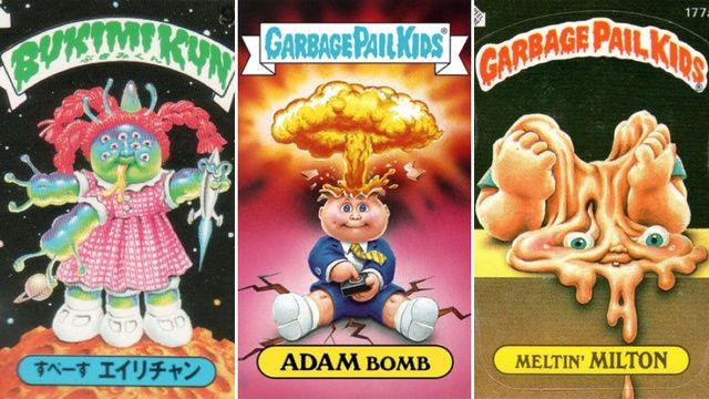 Rarest And Most Expensive Garbage Pail Kids Cards Ever Made Garbage Pail Kids Cards Garbage Pail Kids Artists For Kids