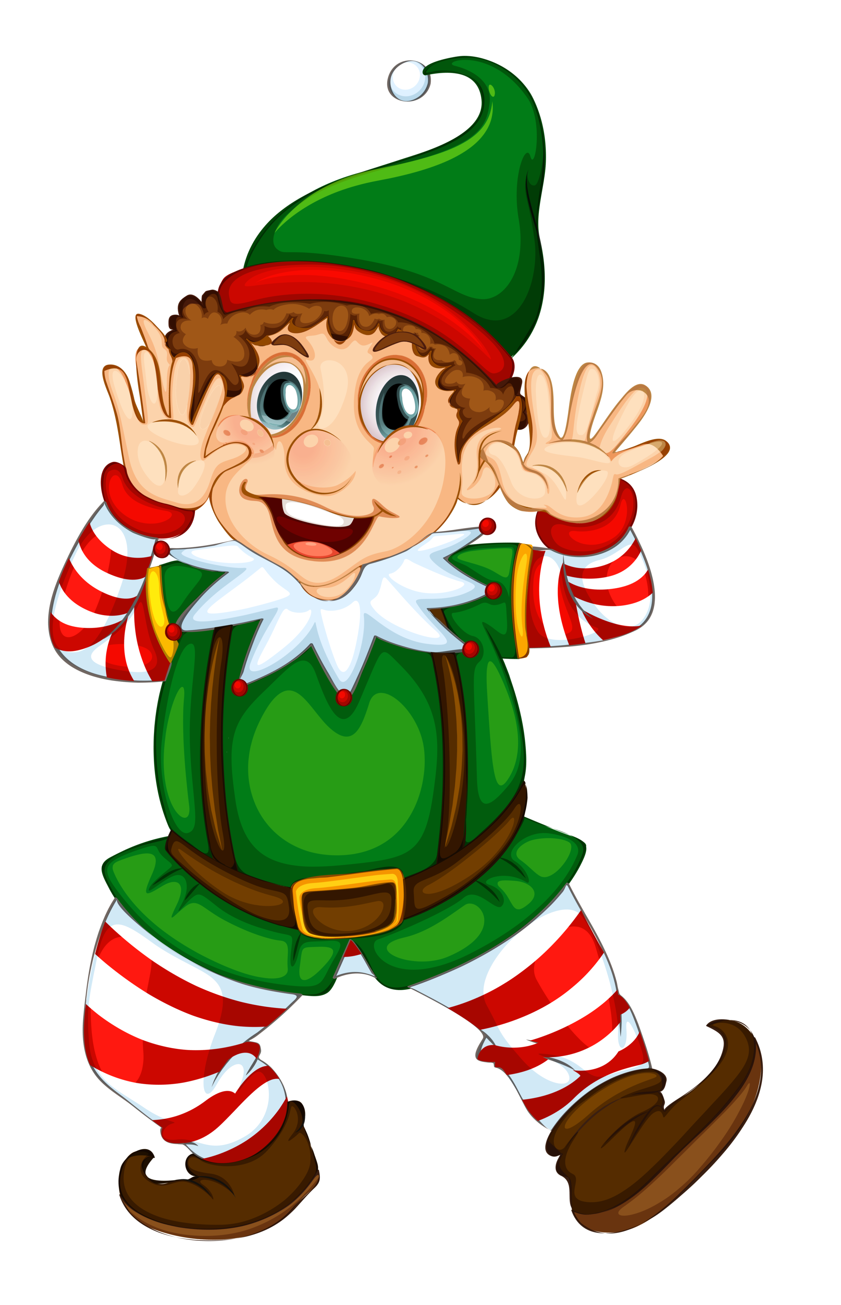 Transparent Christmas Elf M