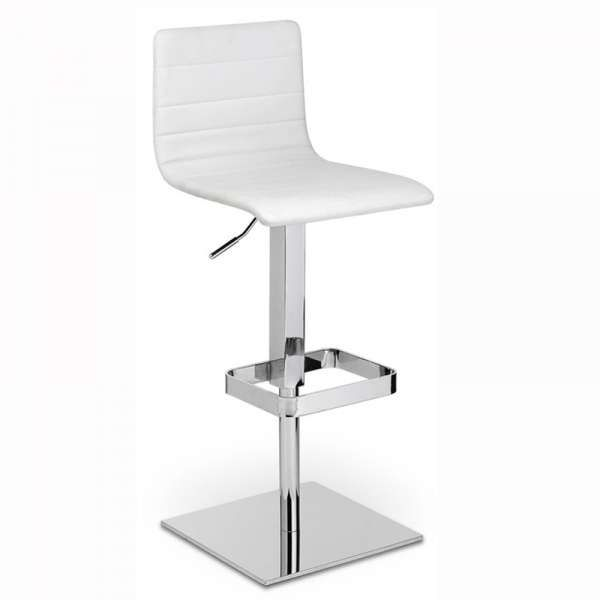 Tabouret De Bar Design Pied Carre Tabouret De Bar Design