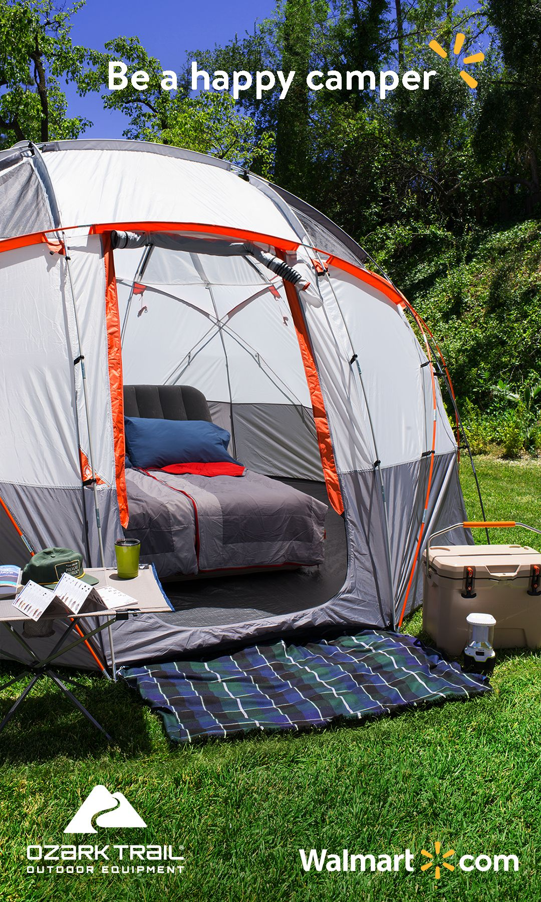 When It Comes To Camping Ozark Trail Doesn T Mess Around Find Quality Outdoor Gear That Provides Ultimate Comfort For The U Outdoor Space Design Tent Outdoor