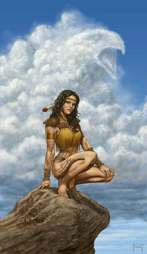Native american women fantasy art all?
