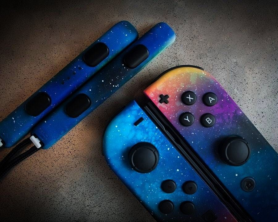 Nintendo Switch Joy-cons made by XLteam -Galaxy Nintendo Switch Joy-cons made by XLteam -  New Nint