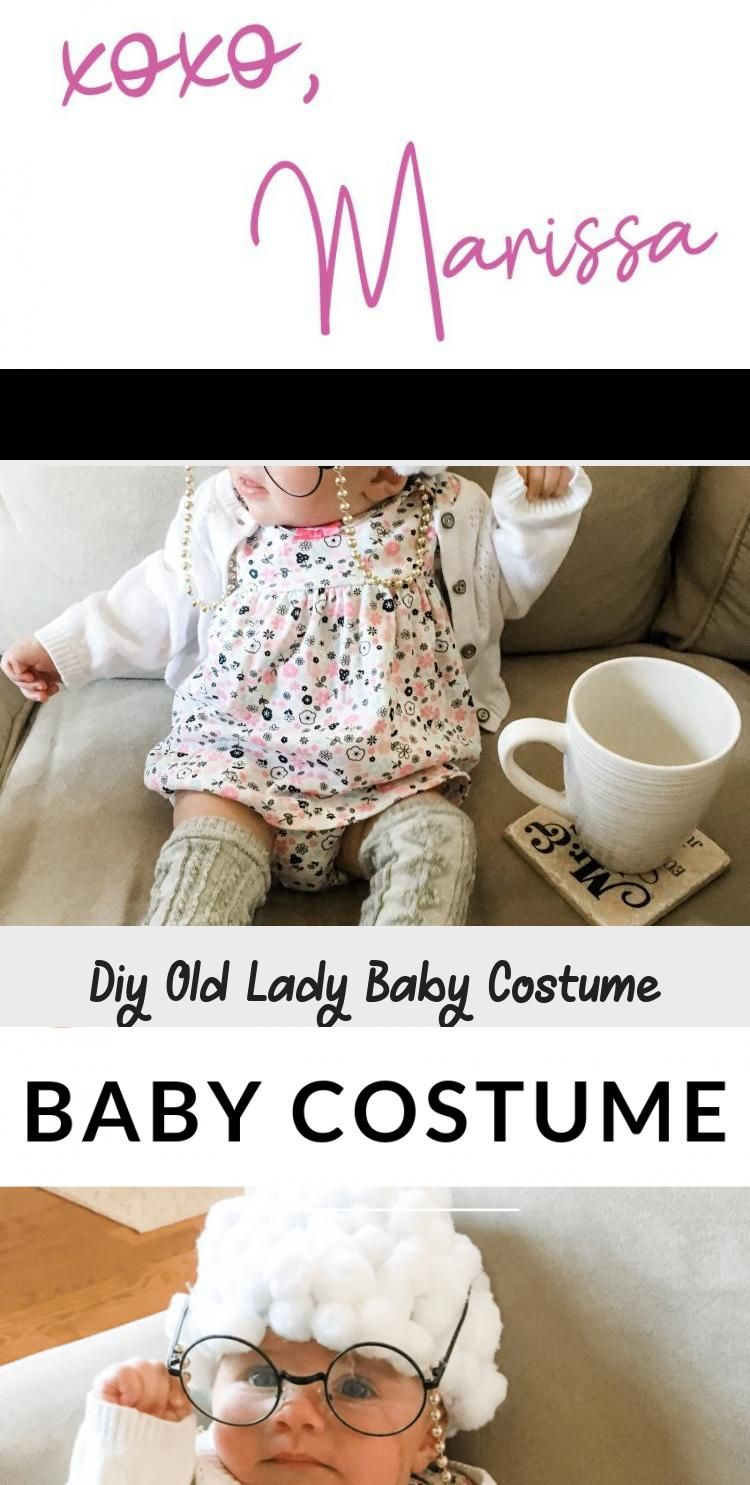 Make Your Own Baby Old Lady Costume With These Ideas Diy Halloween For Baby Girl Welcomebabygirl In 2020 Baby Old Lady Costume Welcome Baby Girls Baby Girl Themes