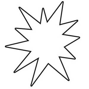 Starburst Clip Art Black White Clip Art Free Clip Art Fabric Projects