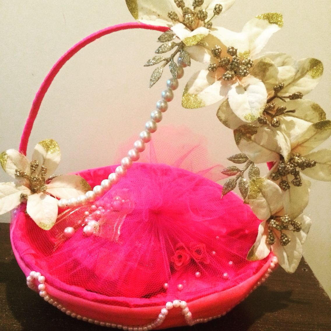 hamperready#foraboss#loveit#pinkandpearls#wrappingbells Indian ...