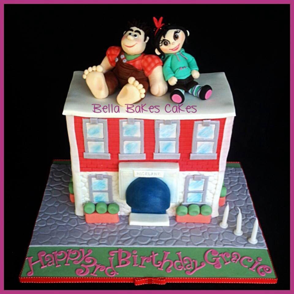 Wreck It Ralph Cake Decorating Kit