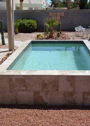 Fiberglass Swimming Pools Systems Jardines y patios Pinterest