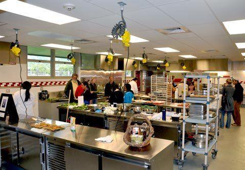Teaching Kitchen Design great culinary school kitchen design 1600 x 615 · 212 kb · jpeg