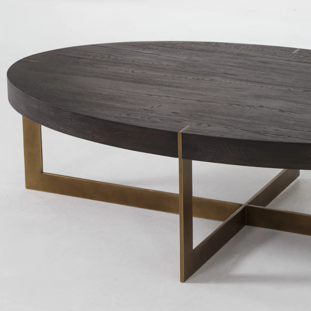 Bryan Coffee Table Oval Industrial Modern Coffee Cocktail Tables Dering Hall Coffee Table Large Coffee Tables Coffee Table Furniture [ 1000 x 1000 Pixel ]