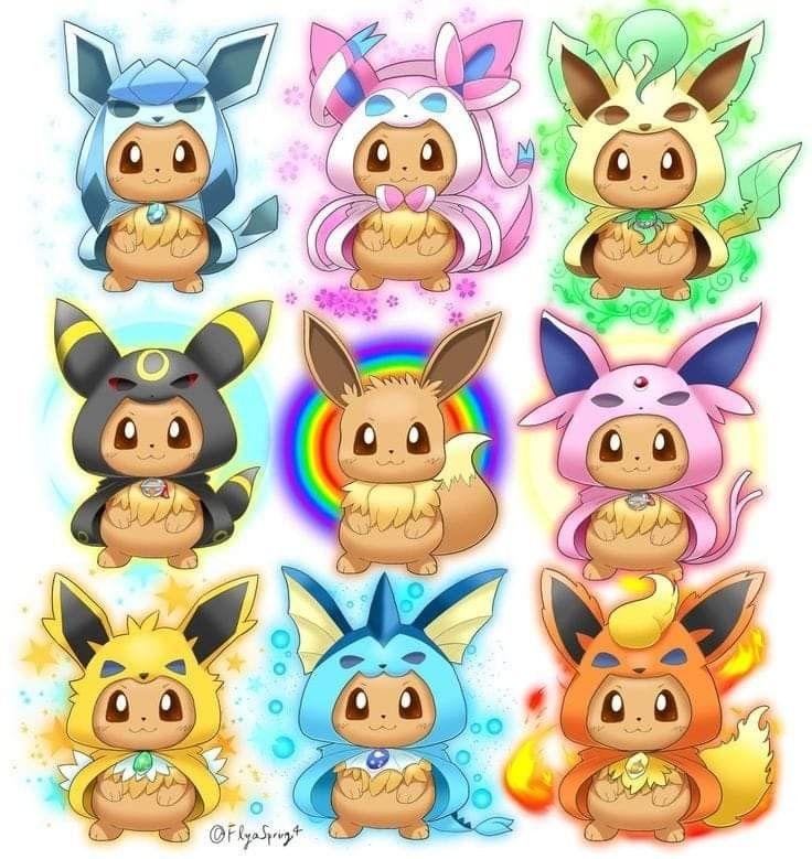Épinglé par shikaido sur pokemon  pokemon evoli dessin