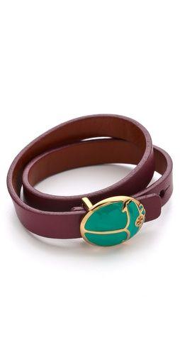 Tory Burch Winslow Double Wrap Bracelet