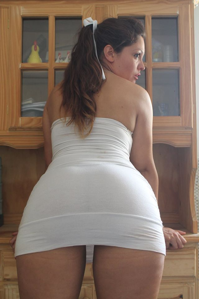 Short tight white dresses