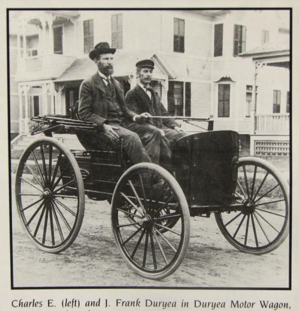 Frank And Charles Duryea Makers Of The First U S Automobile