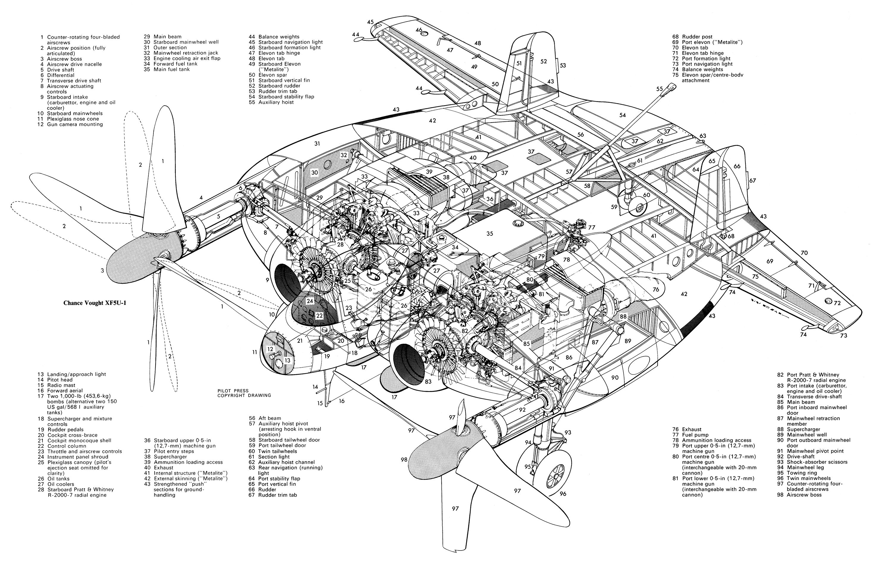 Cutaway View Of A Stalk Flat Four Motor With Images Vw Engine