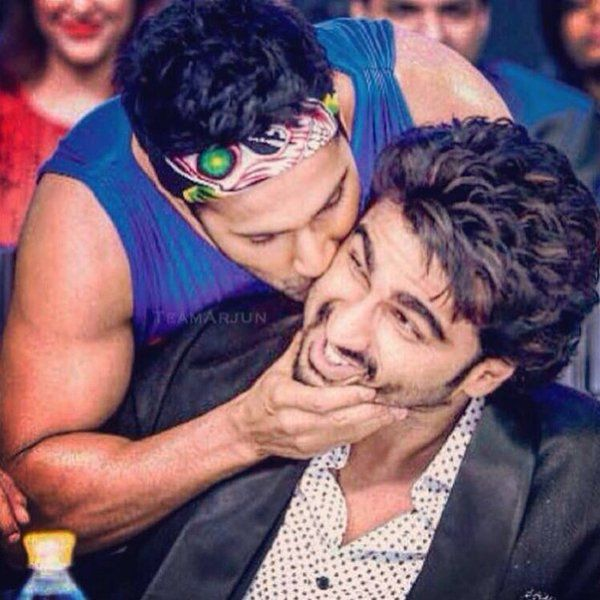 Arjun Kapoor And Varun Dhawan Random Fashion Style Hot