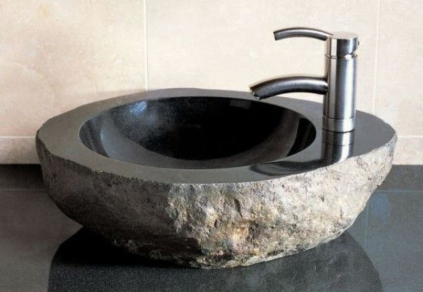 How To Modernize Your Bathroom With Vessel Sinks Stone Vessel Sinks Bathroom Sink Bowls Stone Sink
