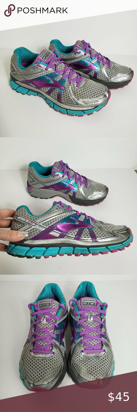 Brooks Adrenaline Gts 17 Women S Running Shoes In 2020 With Images Womens Running Shoes Running Shoes Running Women