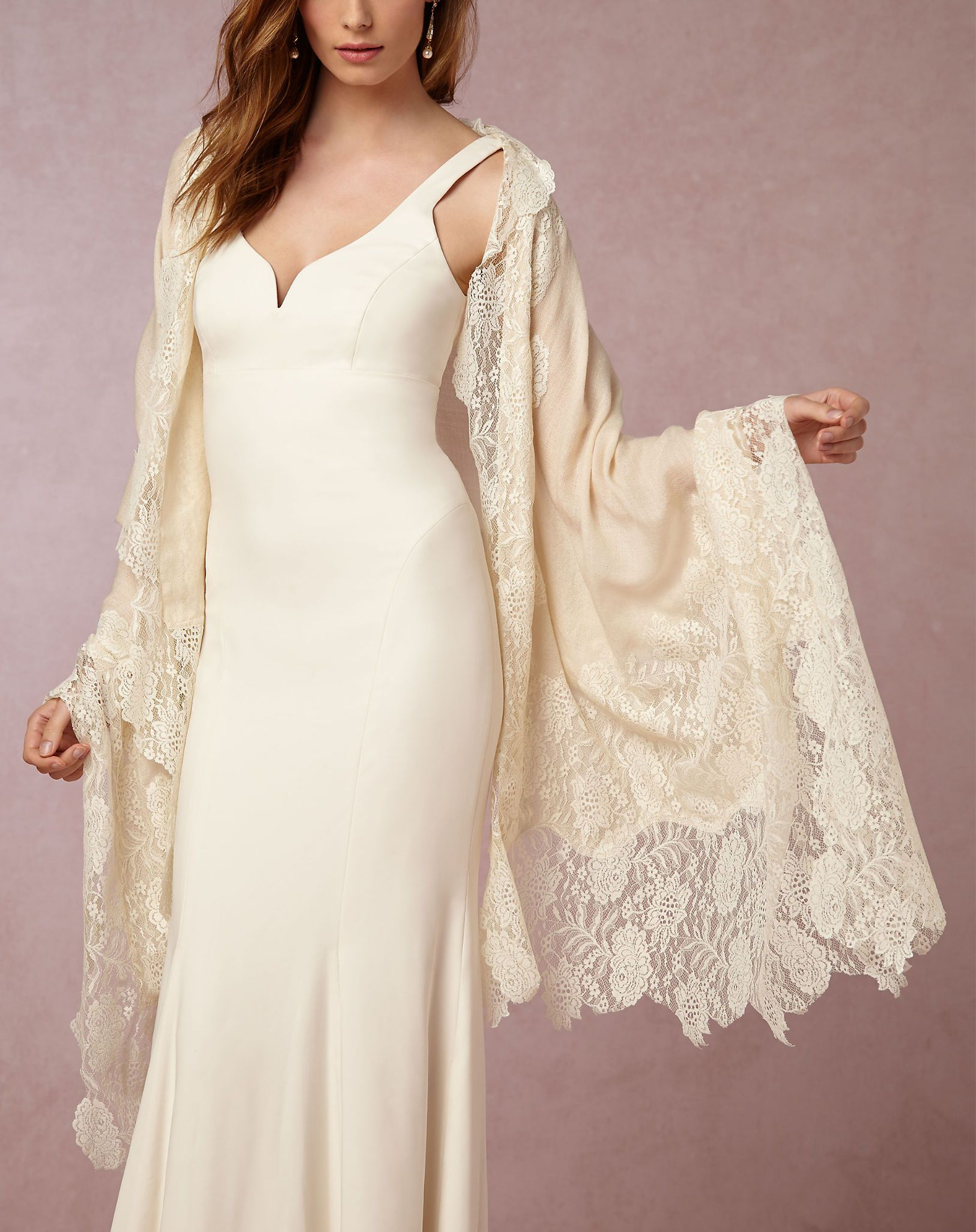 How to Stay Warm at Your Winter Wedding Bridal cover up