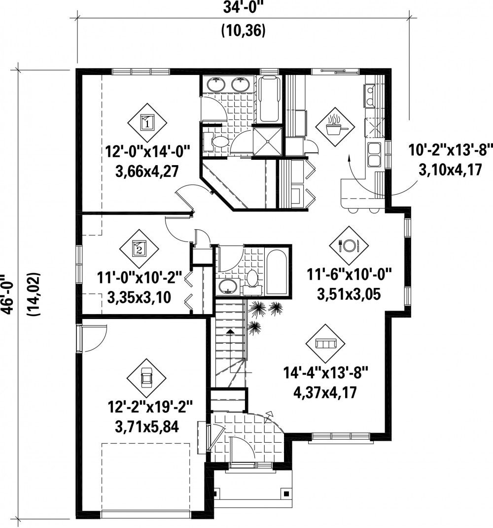 Plan Image Used When Printing Home Plans Pinterest