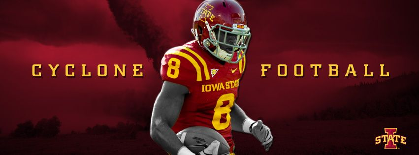 Cyclone Football Cover Photo With Images Iowa State Cyclones