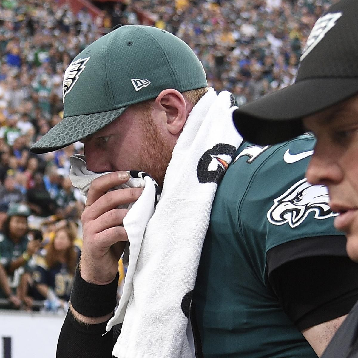 Carson Wentz's Knee Injury Revealed to Be Torn ACL, Out