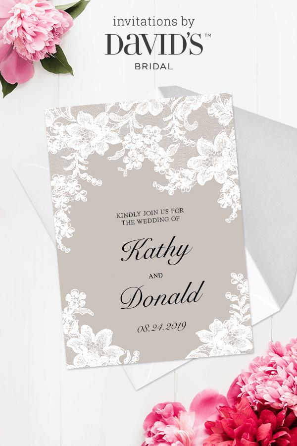 You're invited! Design tailoredtoyou wedding invitations