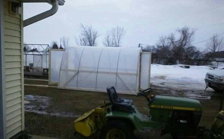50 dollar hoop house finished and ready for seeds