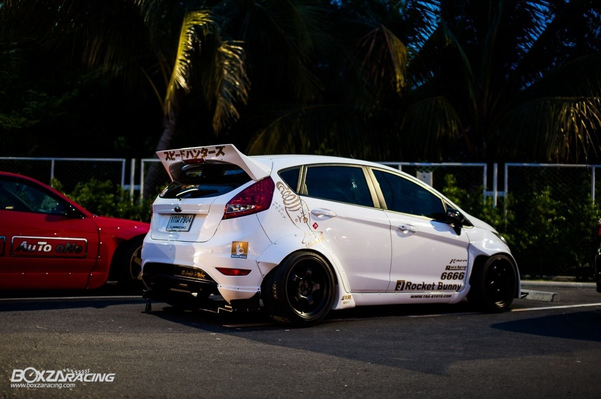 Ford Fiesta Rocket Bunny Ford Fiesta St Ford Fiesta Modified