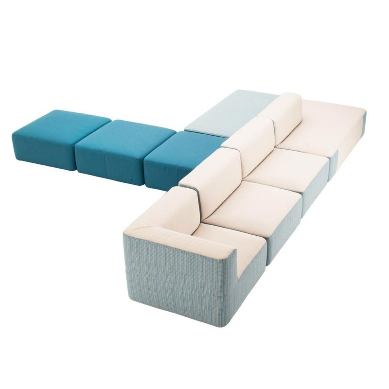Varaschin Belt Loungesessel Loungesofa Mittelmodul Einfarbig 70 Cm Lounge Sessel Modulares Sofa Sofa Stoff