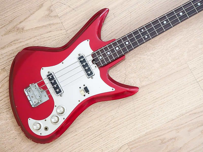 Up For Sale A 1960 S Teisco Kb 2 Vintage Shortscale Bass Guitar