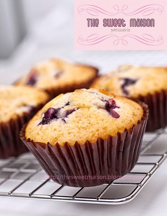 The Sweet Maison Blueberry Muffin Recipe From Kitchenaid Mixer