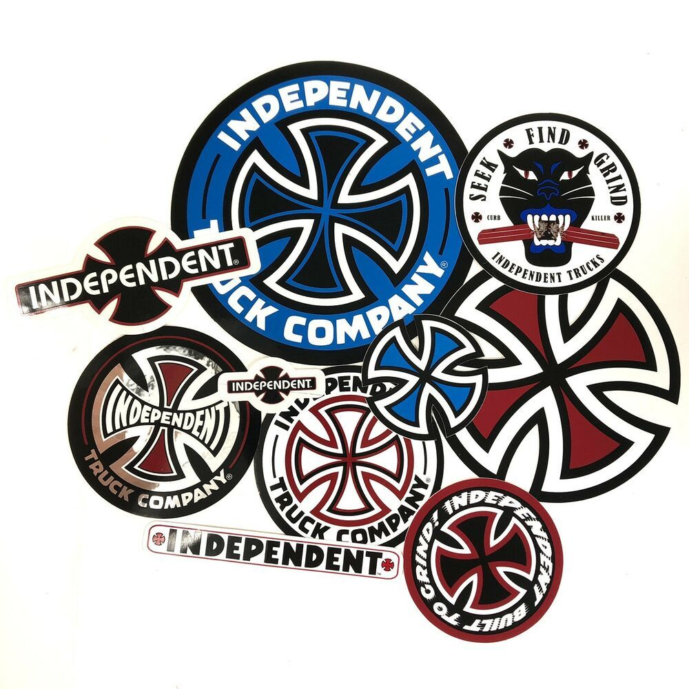 Details About 10 Set Sticker Pack Independent Truck Company Iron