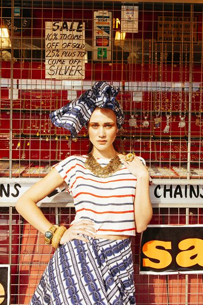 African Tribal Print Mash Up Editorial For Coco Indie Magazine Editorial Fashion London College Of Fashion Fashion
