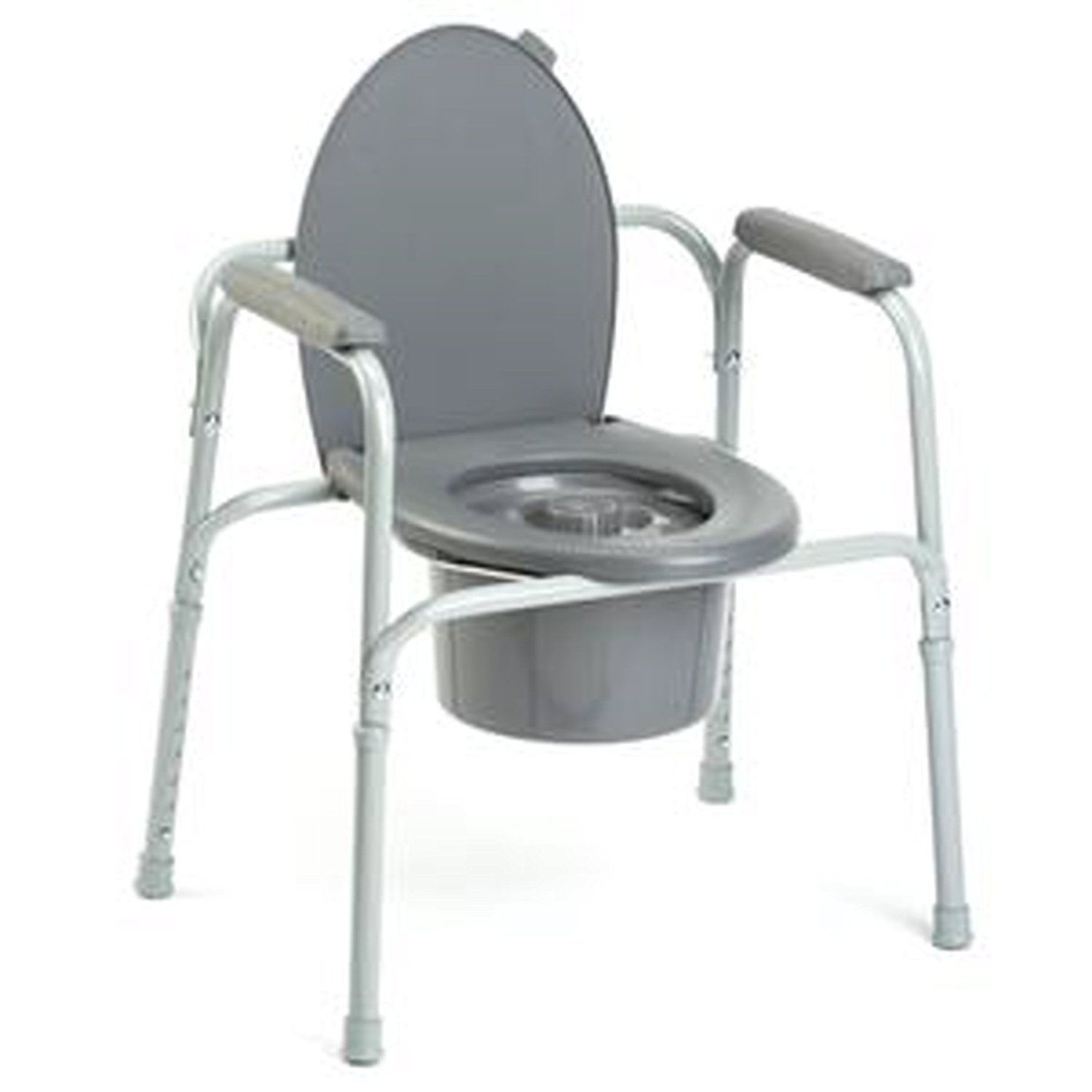 Toilet Frames and Commodes: Invacare Portable Bedside 3-In-One ...