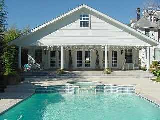 Gonzales Cottage Rental: Private Guesthouse With Private Swimming Pool, Spa And Custom Pool Table. | HomeAway