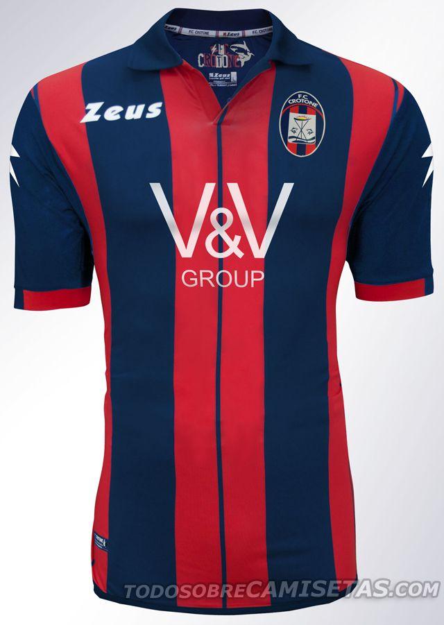 2e12fb8cc FC Crotone Zeus kits 2014 2015 - Todo Sobre Camisetas