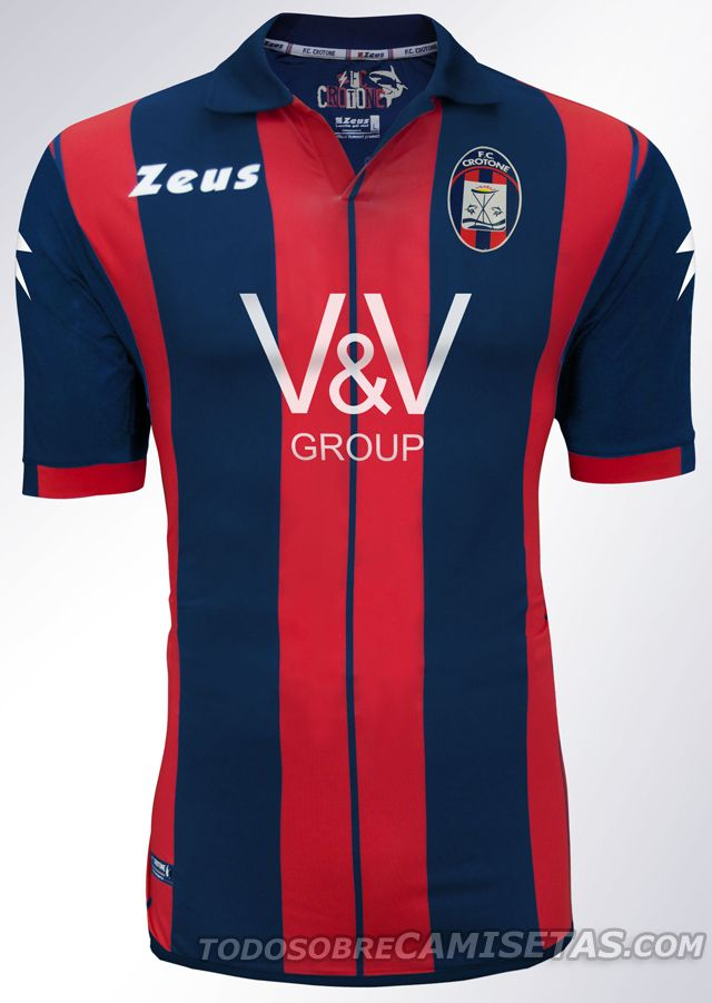 1aad5baa8b7d8 FC Crotone Zeus kits 2014 2015 - Todo Sobre Camisetas