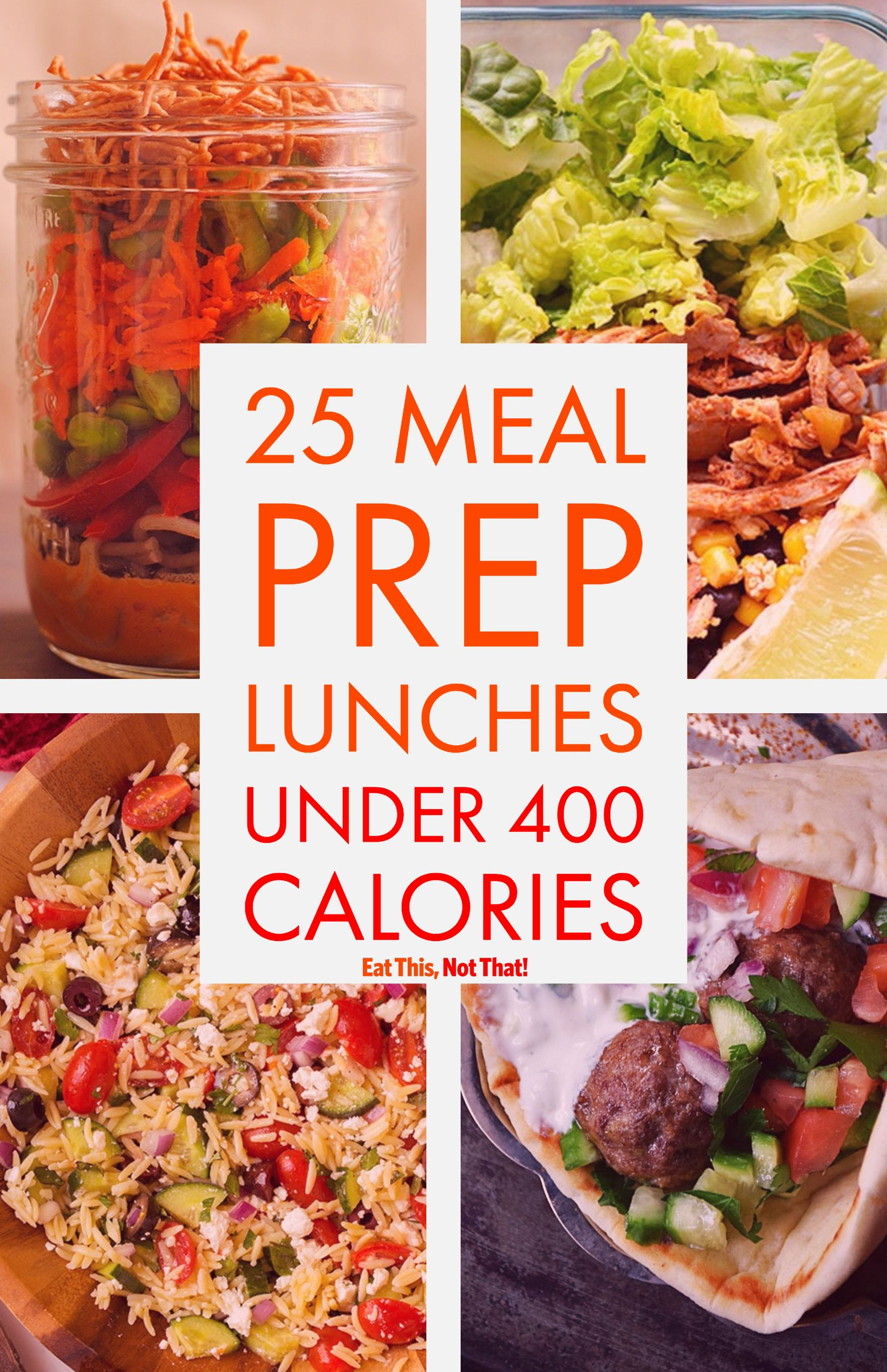 25 Tasty And Healthy Lunch Ideas Under 400 Calories #400caloriemeals