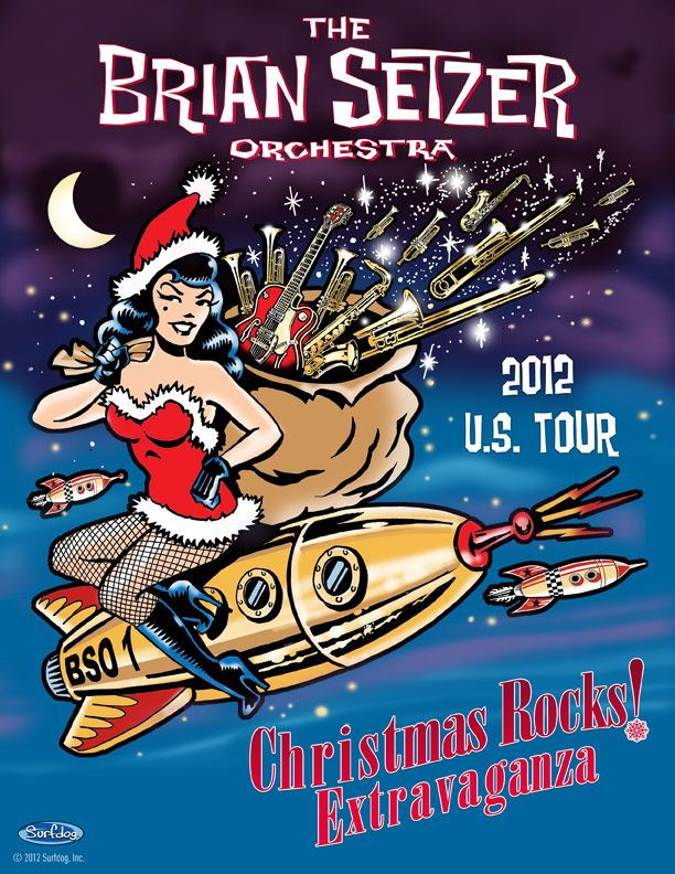 The Brian Setzer Orchestra 2012 Christmas Extravaganza! | My Style ...